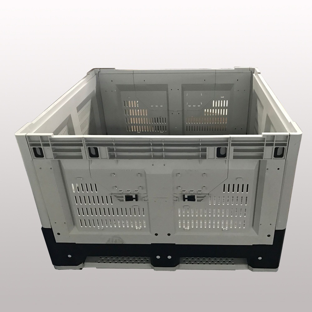 1162*1162*780mm Plastic Folding Bin Collapsible Containers