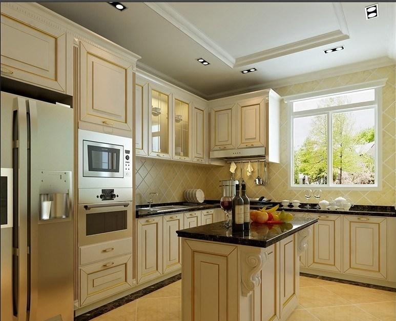 New Design Wooden Furniture Kitchen Cabinet Wholesale Cabinet Doors