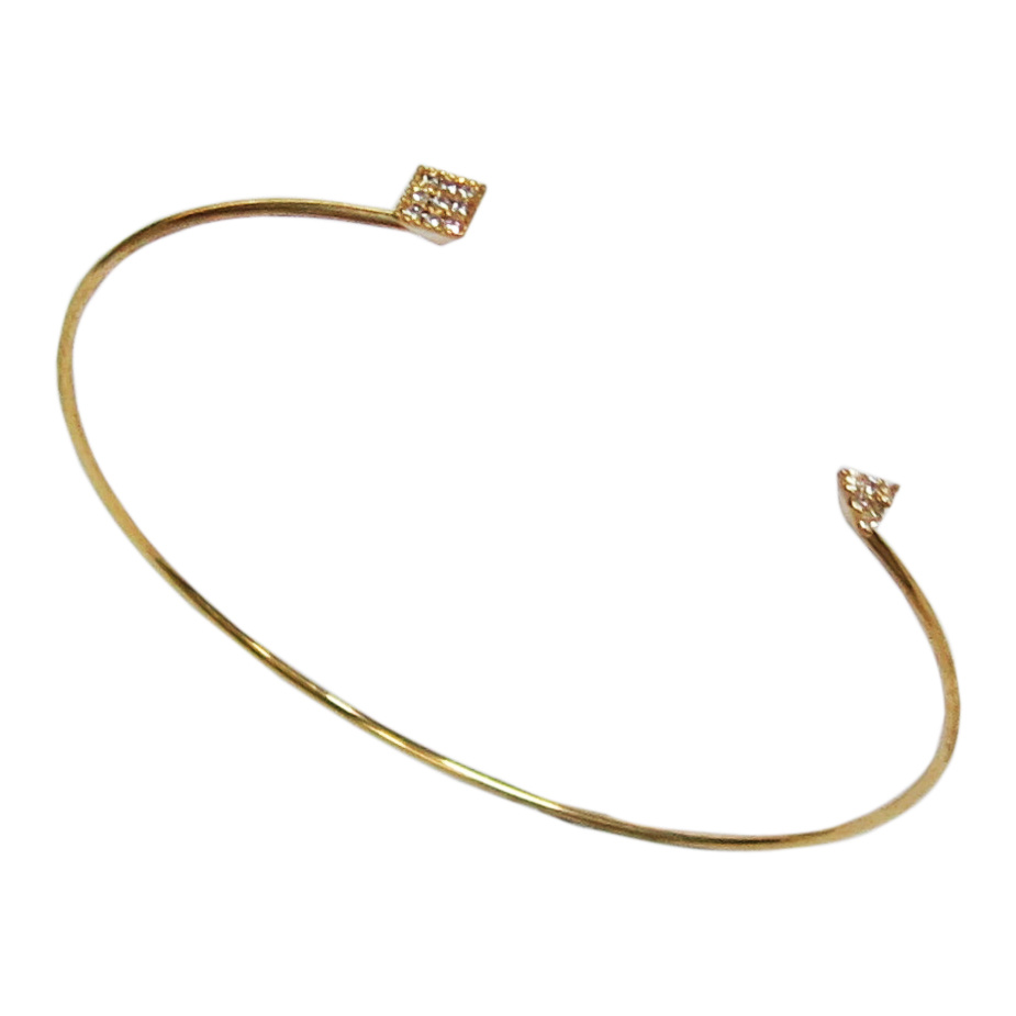 Best Saler Fashion Jewelry 925 Silver Simple Bangle (G41372)
