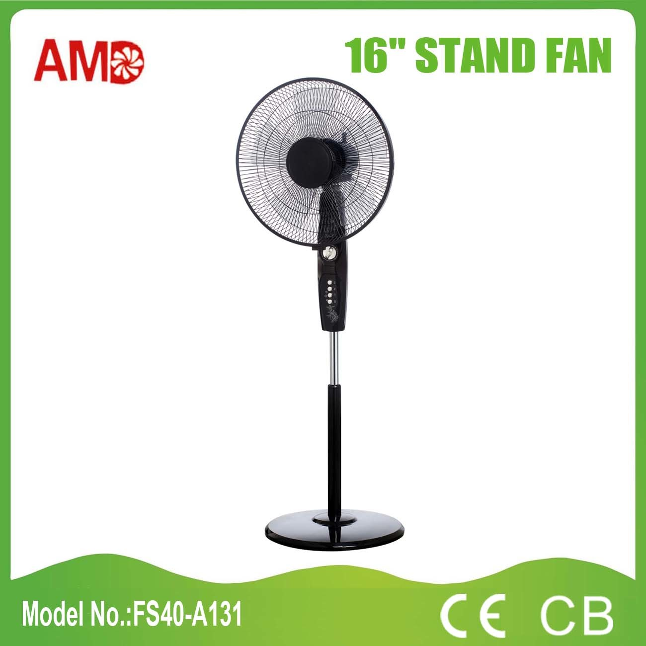New Design Good Quality 16 Inch Stand Fan with Ce CB Certificate (FS40-A131)