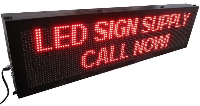 Hot Products P10 LED Sign Display High Quality LED Sign