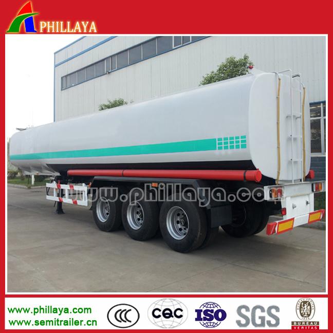 3 Axles 35000-50000L Fuel Tanker Semi Trailer