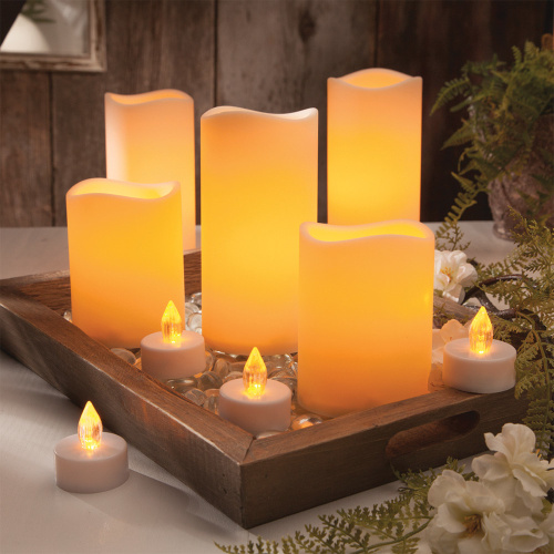 High Quality Flameless Wax LED Candle