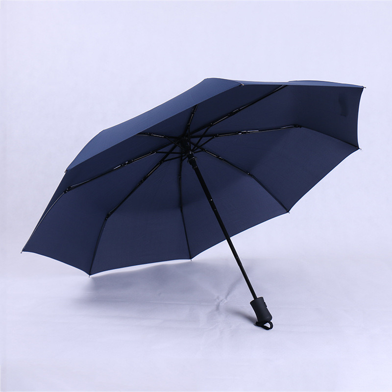 Fashion Women Business Fully Rain Umbrellas UV Parasol Men Automatic Three-Folding Windproof Sun Umbrella