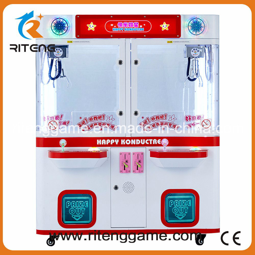 Supermaket Indoor Games Amusement Claw Crane Vending Machines for Sale
