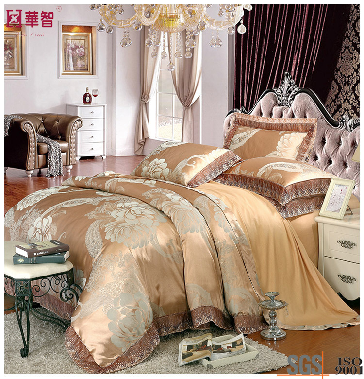High Quality Luxry Cotton Jacquard Bedding Sets