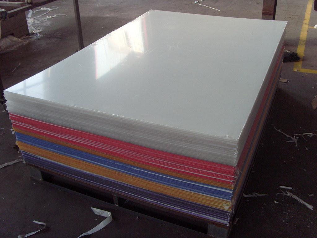 Colored cast acrylic sheet - 1 4 Grade A Milky White Color Acrylic Sheet