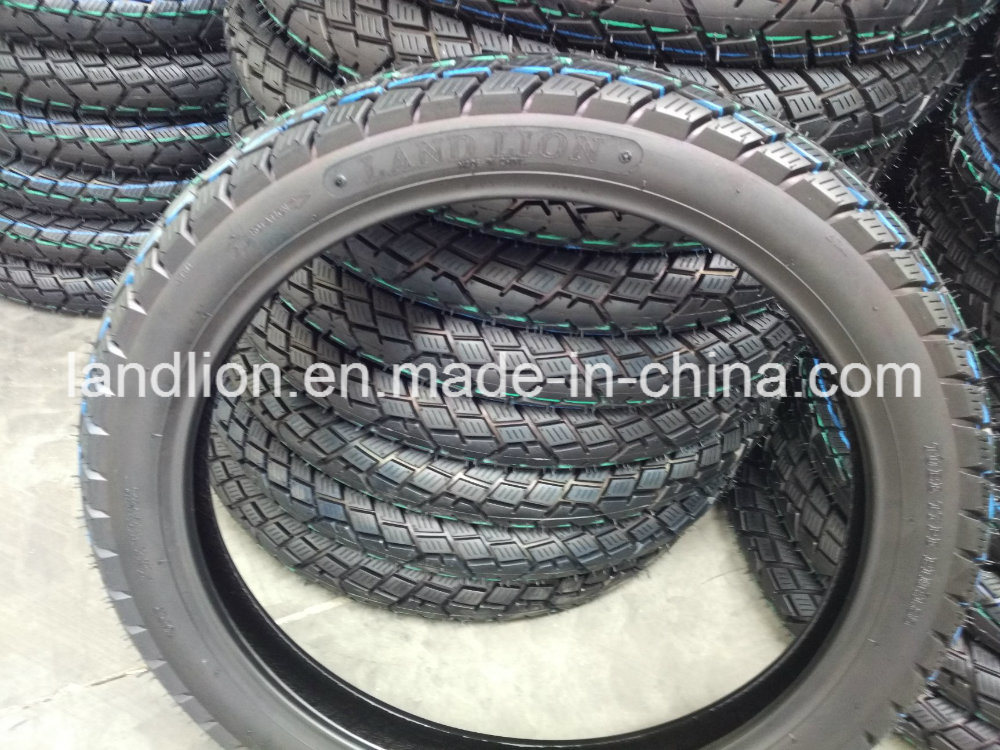 Land Lion Factory Directly Supply Kinds Pattern Motorcycle Tyre 110/90-16, 110/90-17, 3.00-18