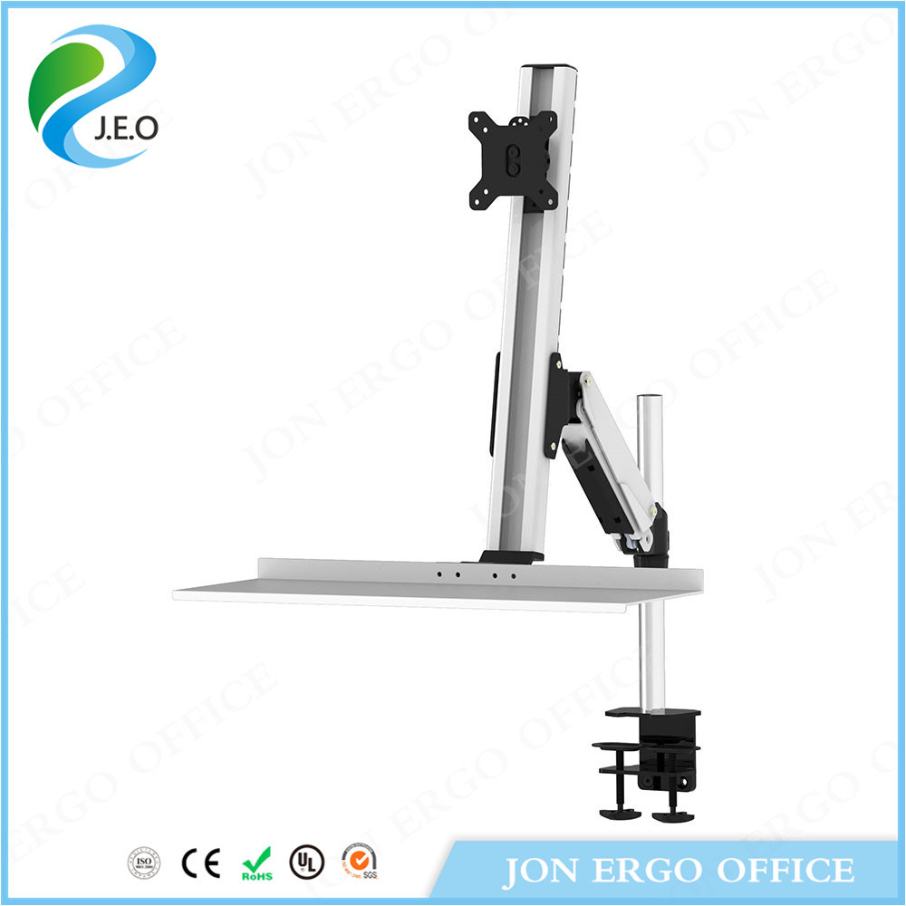 Gas Lifting Stand up Workstation/Monitor Stand with Keyboard (JN-WS11)