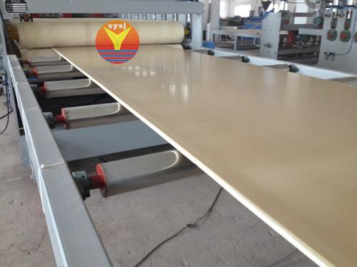 WPC Foam Board Plastic Machinery