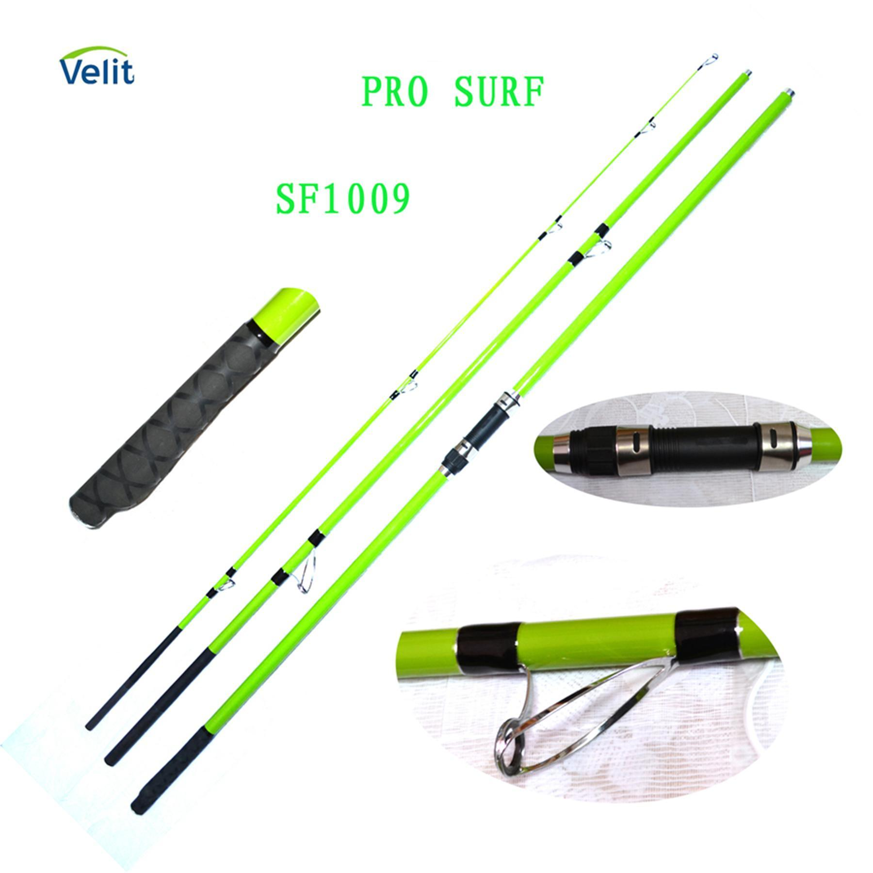 China fishing tackle sf1009 surf rod photos pictures for Surf fishing tackle