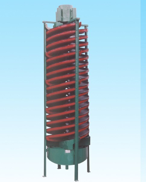 Spiral Chute for Select Gold