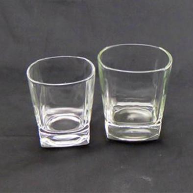 6oz & 10oz Classic Square Base Rocks Glass (180ml & 300ml)