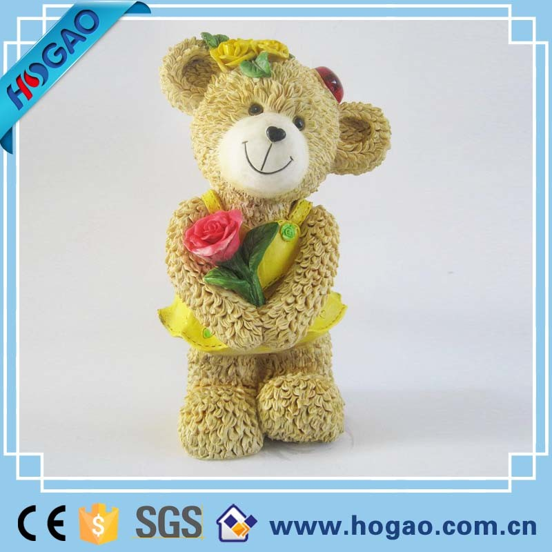 Polyresin Cartoon Wedding Love Mouse Figurine as Gifts