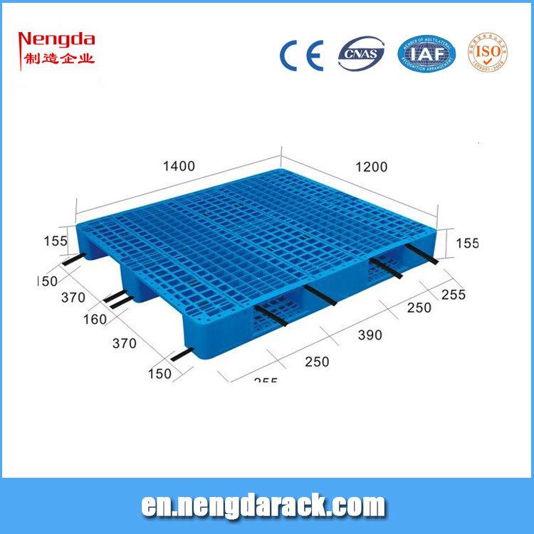 Durable 1200*1000mm Plastic Pallet for Storehouse
