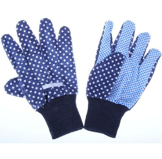 Garden Gloves with Knitted Wrist