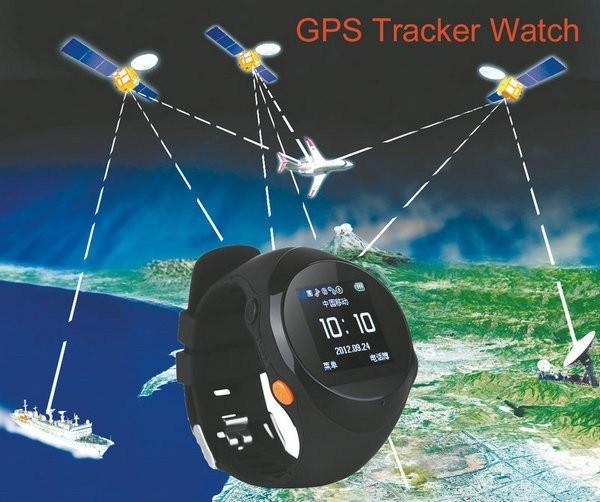 GPS Tracker Watch Phone Sos Calling Elder Smart Watch with Calling Function