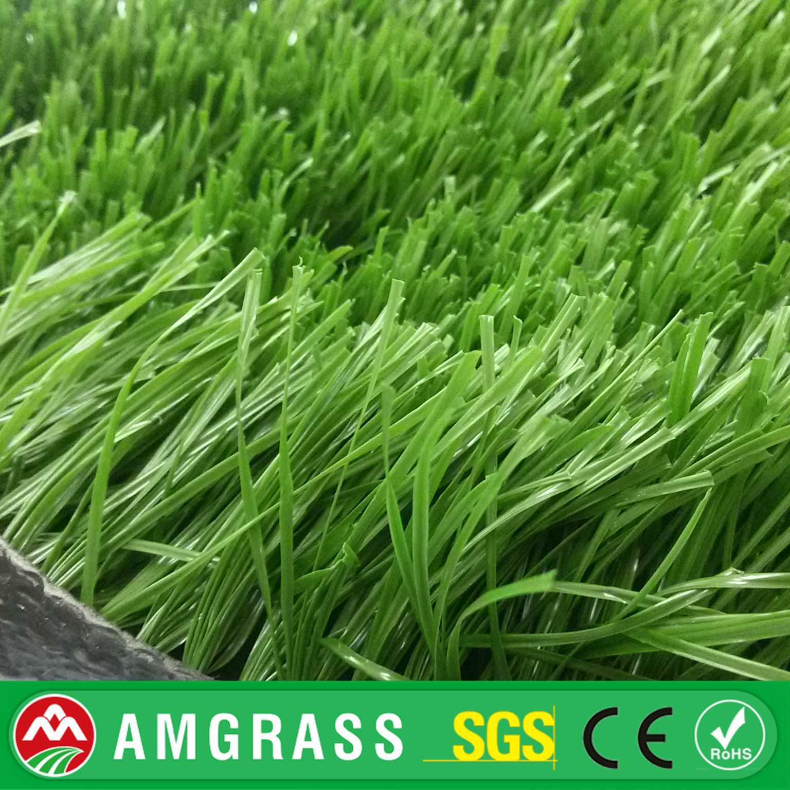 High Quality Football Fied Soccer S Shape Monofile PE Artificial Grass