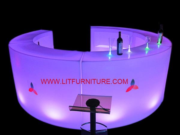 LED Bar Counter Design