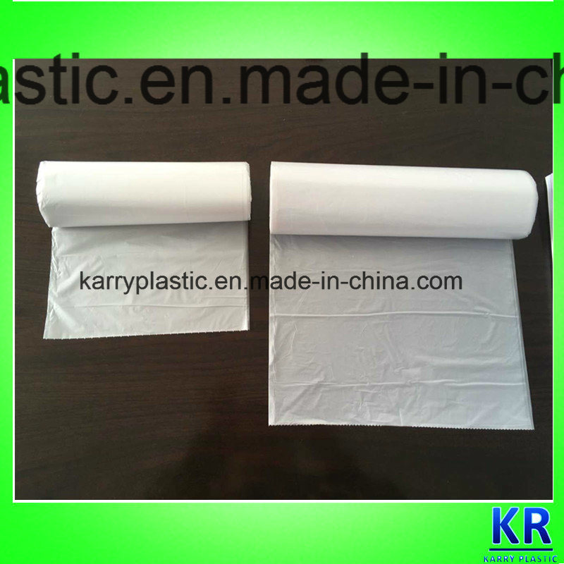 HDPE Garbage Bag, Trash Bags with Star-Sealed Bottom