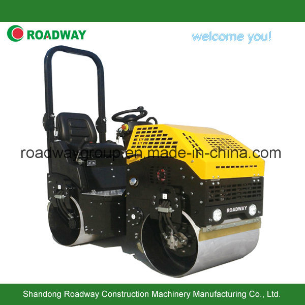 1 Ton Ride on Tandam Vibratory Roller