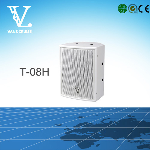 T-08h 8′′ Coaxial Mini Speaker Used in Home Theater System