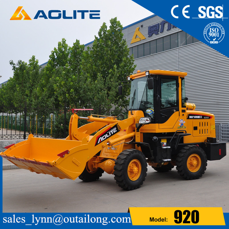 Farm Tractor Small Compact Hydraulic Wheel Loader 920 for Sale