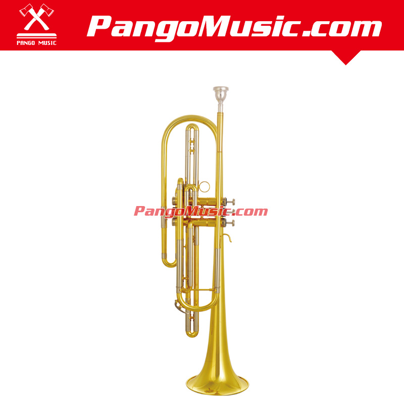 Bb Tone Brass Body Bass Trumpet (Pango PMBT-850)