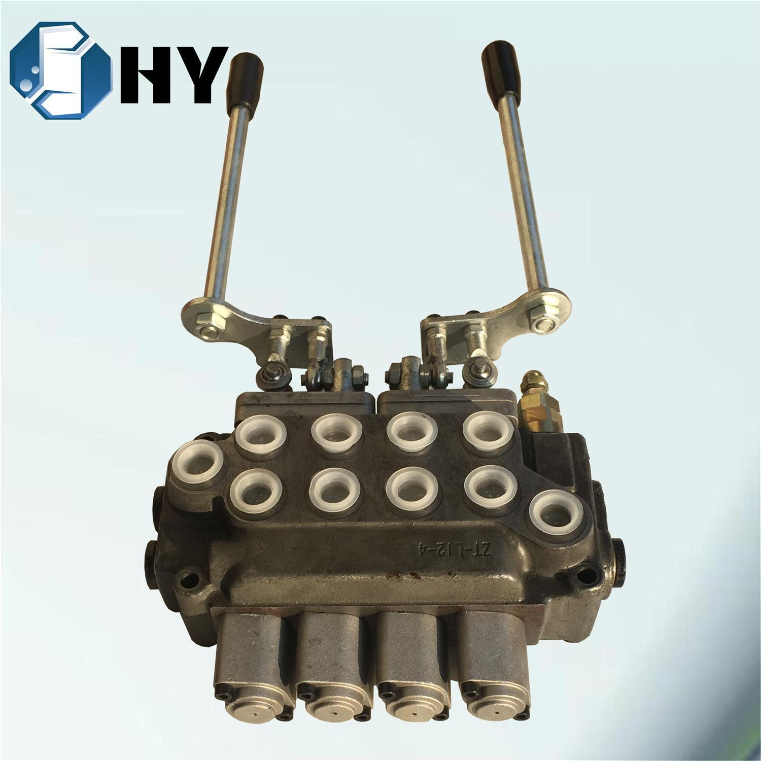 4 Spool Hydraulic Multiple Monoblock Valve for Wagon Tremie OEM
