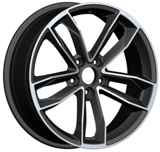 Aluminium Car Replica Alloy Wheel for Audi Toyota
