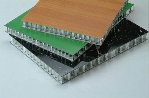Stone Grain Coating Aluminium Honeycomb Panels (HR P021)
