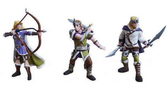 8 Cm Height Plastic Mini Figure Toy for Promotion