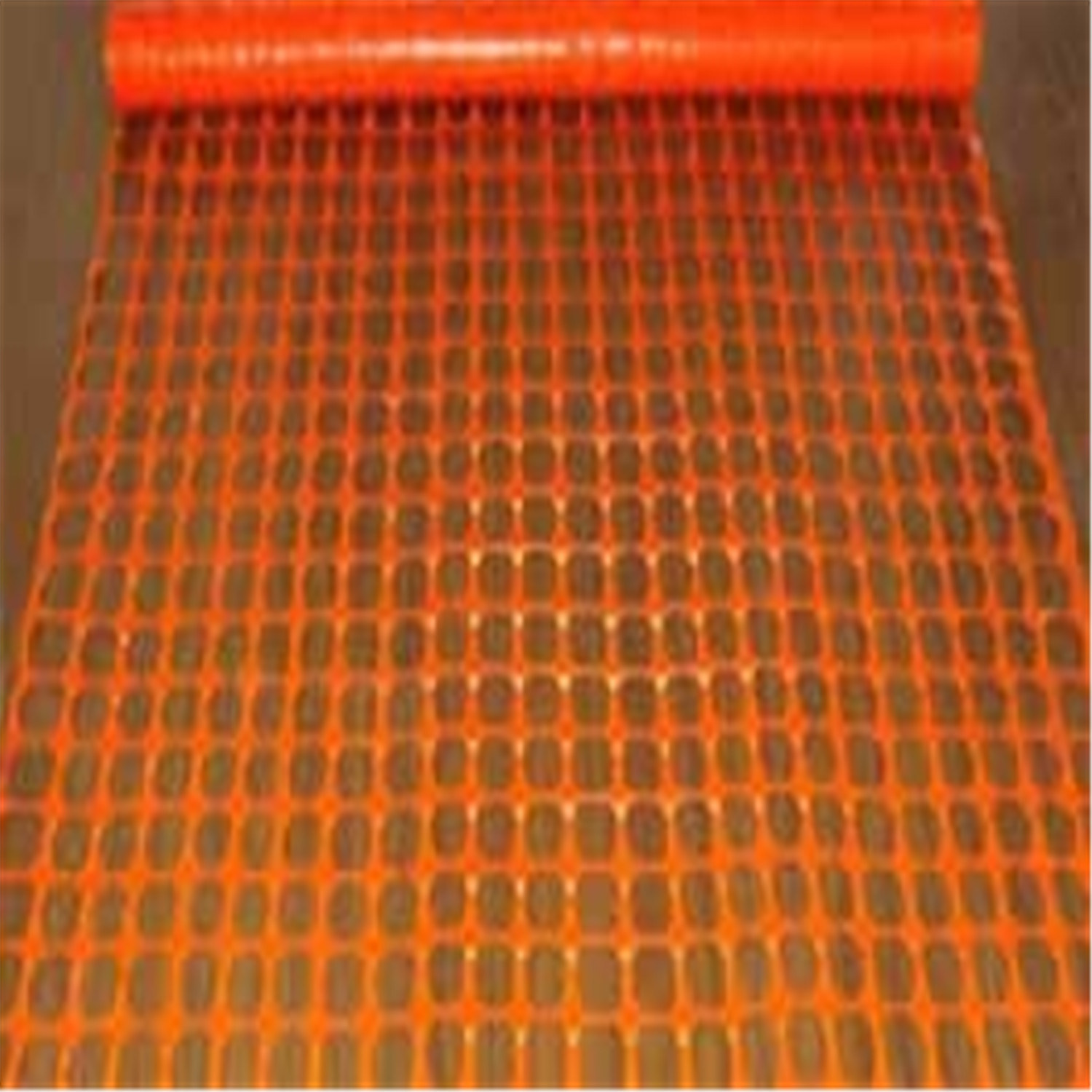 Orange Plastic Warning Safety Fence
