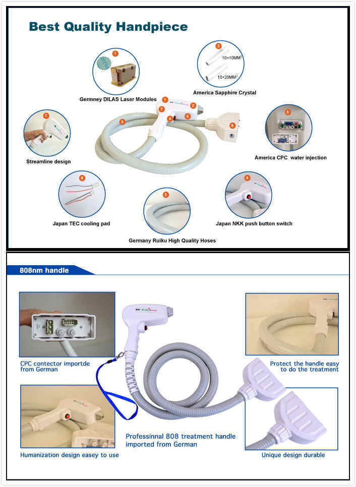 Newest IPL Laser Hair Removal Medical Beauty Machine