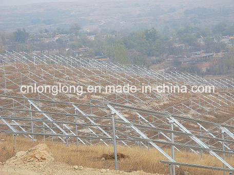 Solar Steel Profile Frame with 50years Guarantee Anti-Rust