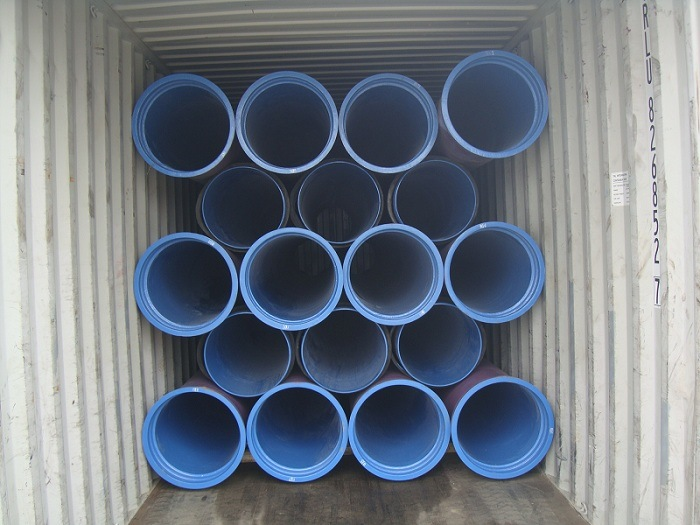 Ductile Iron Pipe with Dn700 Polyurethane 1mm Thickness Lining