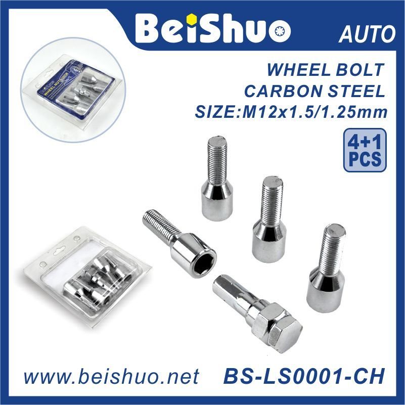 16+4+2 PCS/Set Wheel Lock Nut with Double Blister Package for Auto Spare Parts