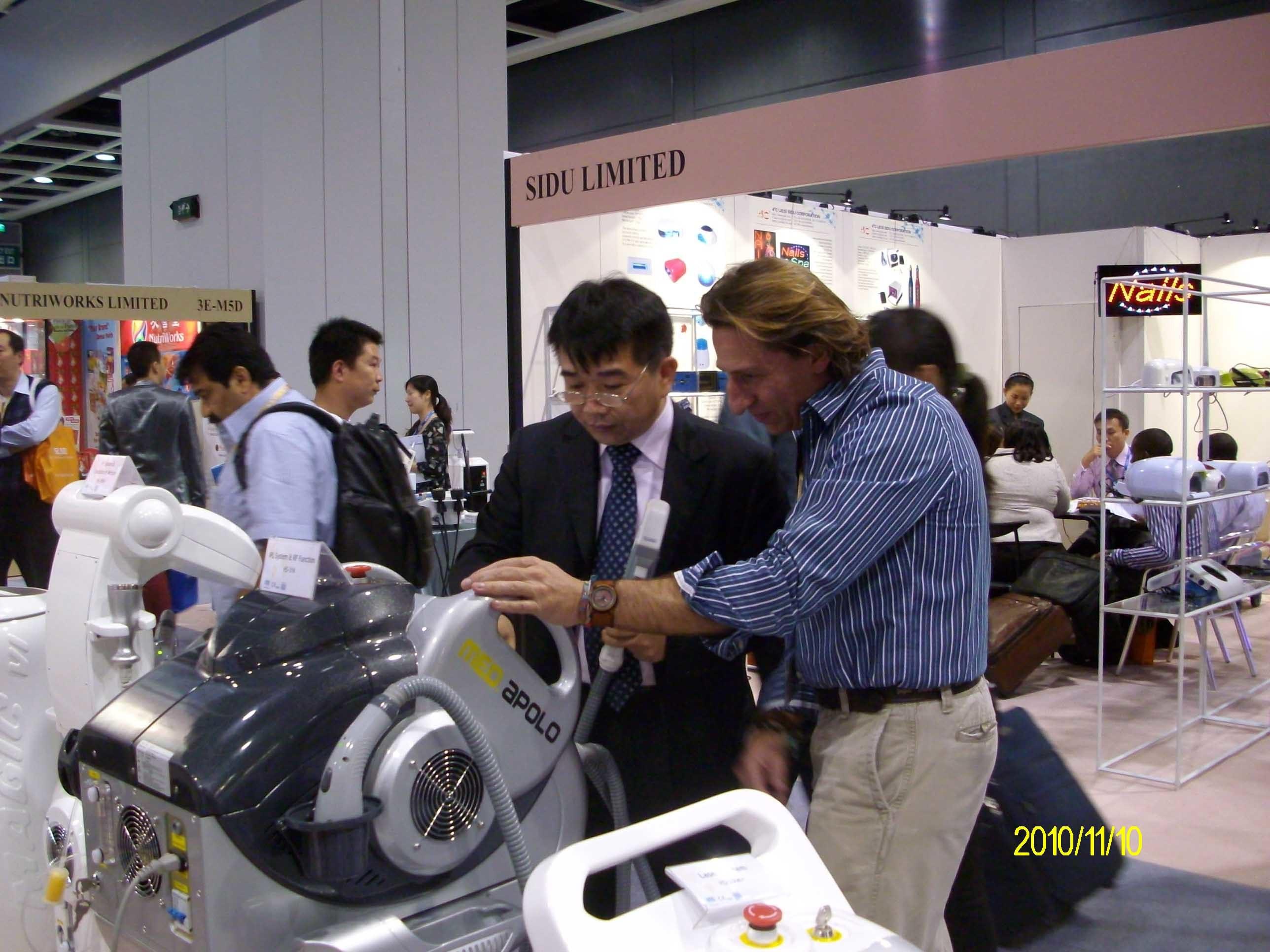 Apolo IPL+RF+E-Light Hair Remova Aesthetic Device