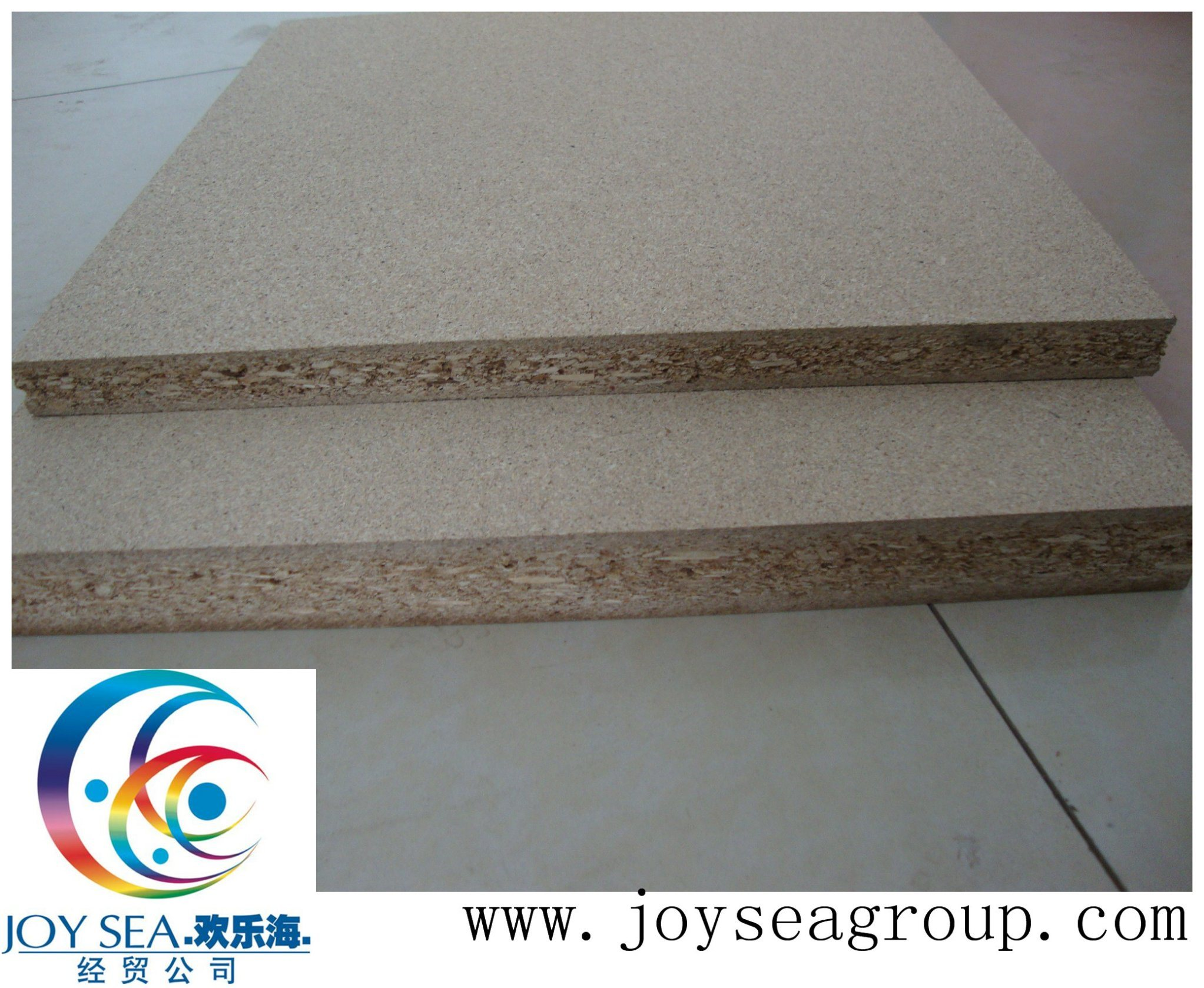 Furniture Grade Plain Wood Chipboard of Cabinet Decoration Building Material