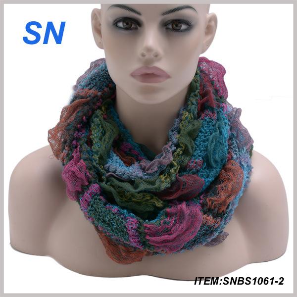 2015 Fashion Snood Scarf New Design for Ladies