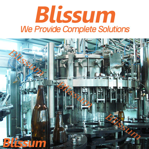 6, 000bph Glass Bottle Beer Packing Line/ Processing Machinery