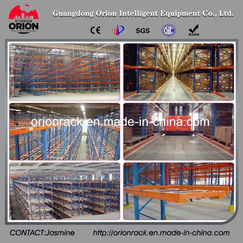 Industrial Warehouse Narrow Aisle Pallet Racking