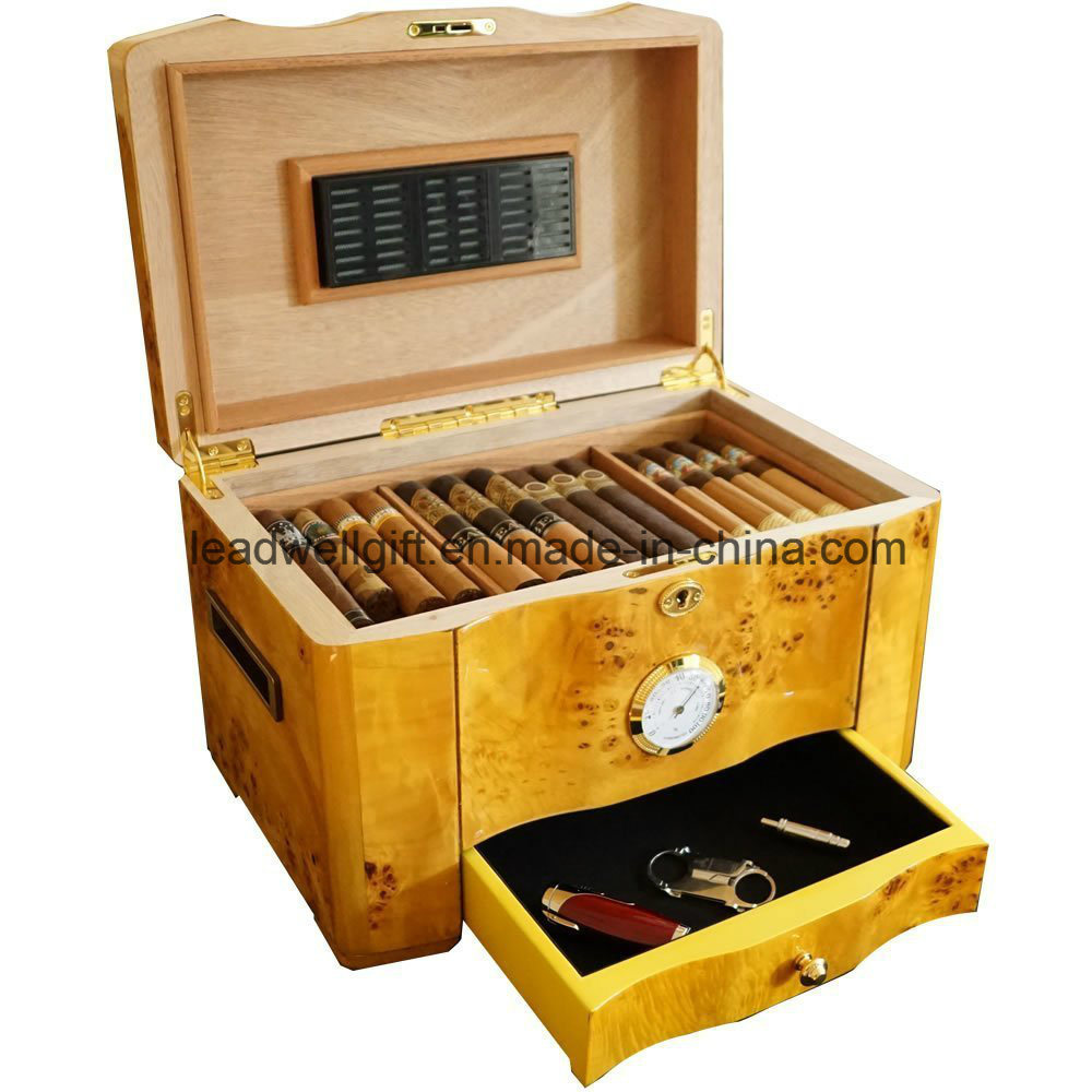 Luxury Collection- Exotic High Piano Gloss Cigar Box