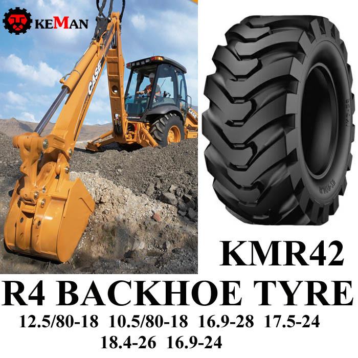 R4 Backhoe Industrial Tyre