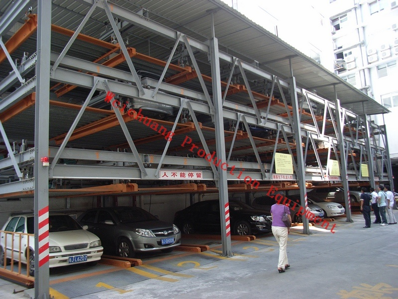 Mechanical Parking System - Lift and Slide Type