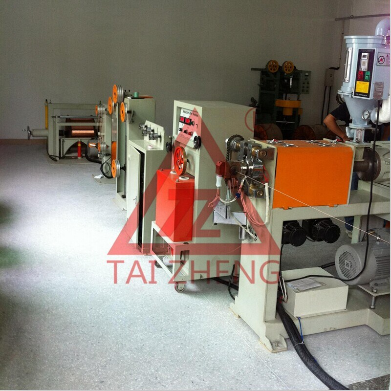 Coaxial Cable Extruder Manufactruing Machine