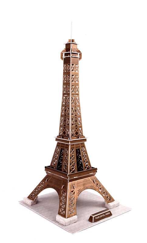 China 3d crystal puzzle for eiffel tower 6604 photos amp pictures