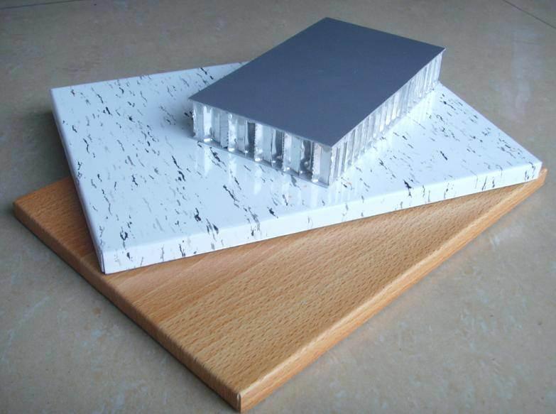 Stone Grain Coating Aluminium Honeycomb Panels (HR P021)