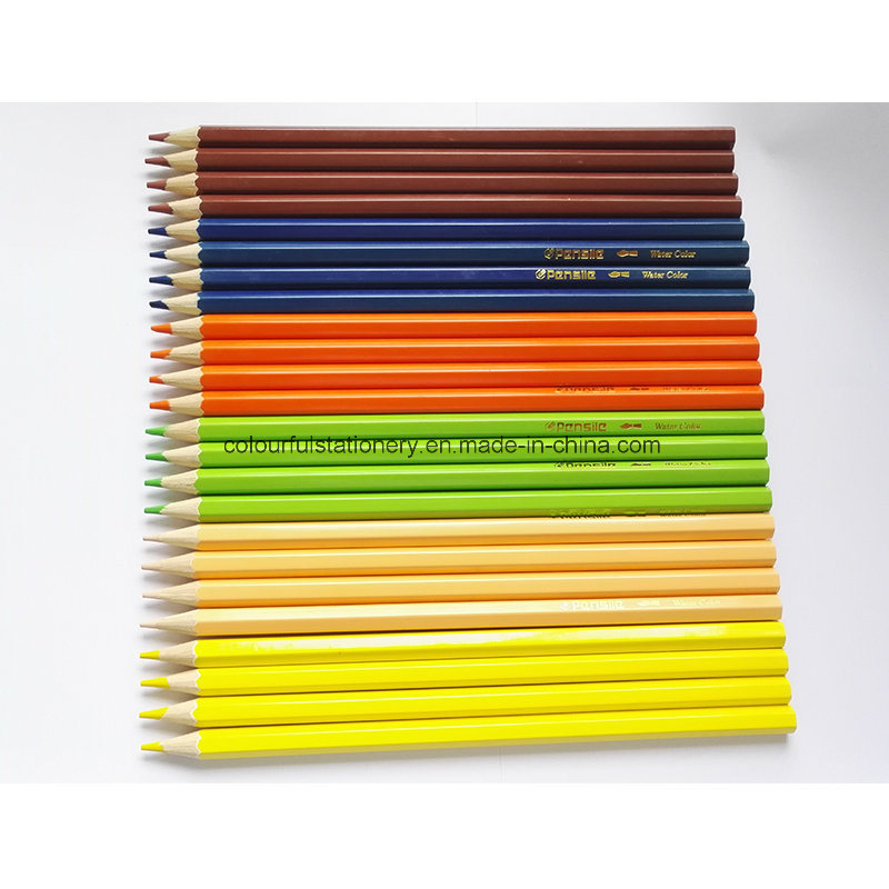 24PCS Wooden Color Pencil for Promotion Gift