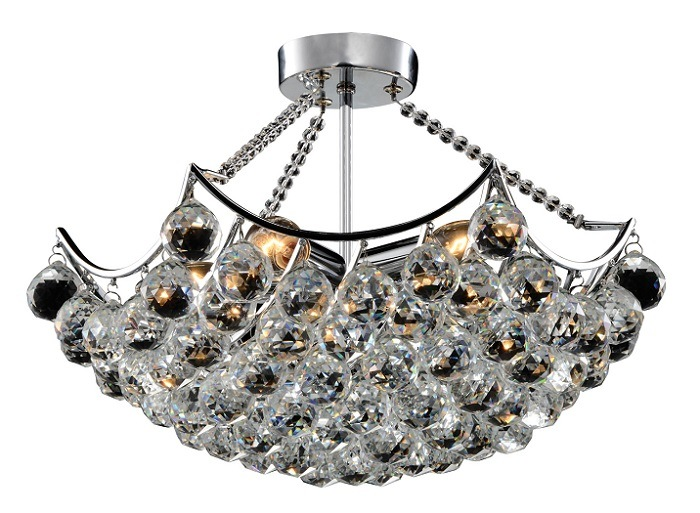 Phine Group Ceiling Lamp with Crystal Decorative PC-0007-03